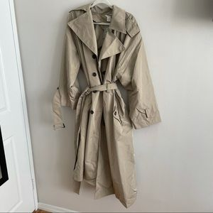 NWT H&M Trench Coat